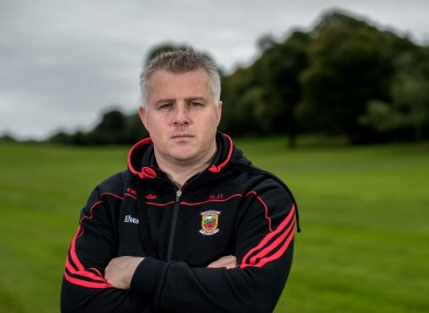 Mayo manager Stephen Rochford.