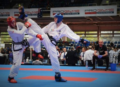 The Irish team have enjoyed plenty of success in Taekwon-do in recent years.