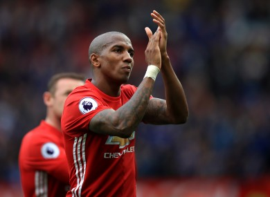 Ashley Young has been linked with a move to China.
