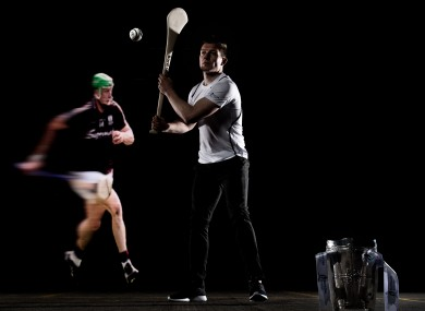 Joe Canning at yesterday's Bord Gáis Energy launch of their senior hurling championship sponsorship