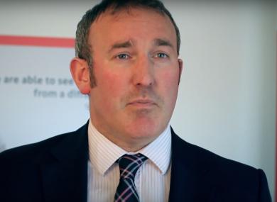 TTM chief executive Brian Crowley