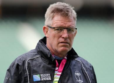 Fiji head coach John McKee.