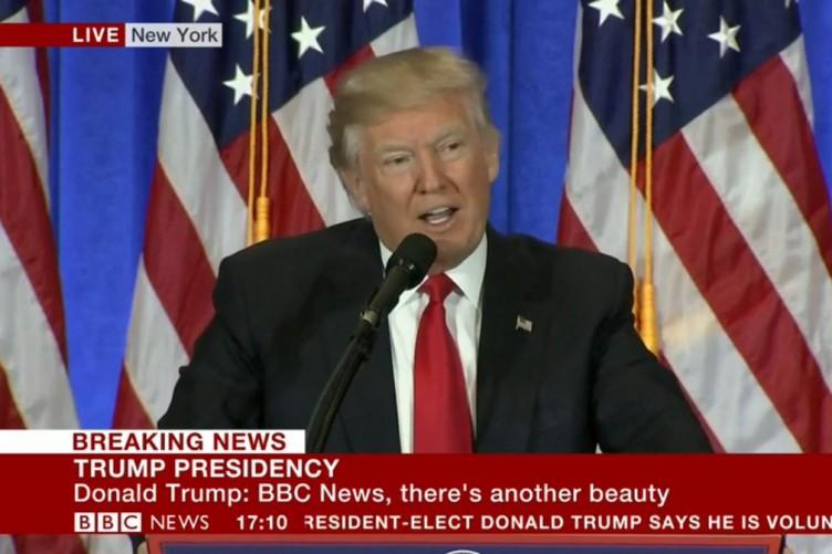bbc trump news