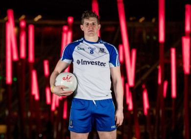 Darren Hughes was helping to launch eir Sports GAA league coverage yesterday.