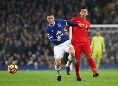 James McCarthy's game time has been limited this season.