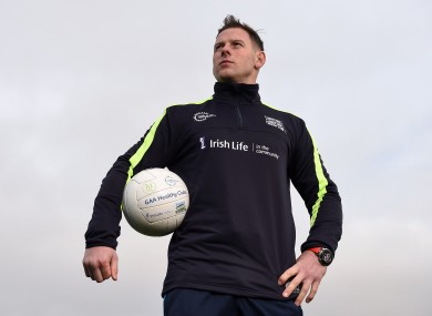 Philly McMahon was at the GAA's launch of the Healthy Clubs Project