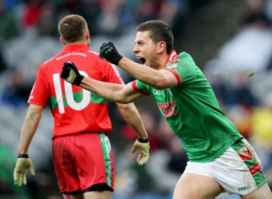 Karol Mannion in action in the 2013 All-Ireland club final.