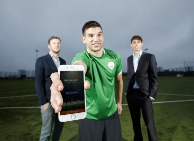 Gary O'Toole is the co-founder of the Kickabout app.