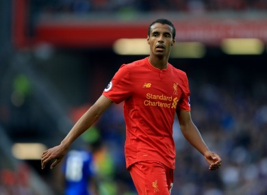 Matip has started 12 league games for Liverpool this season.