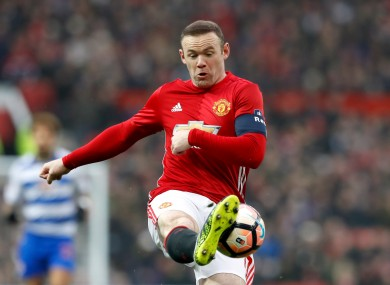 Wayne Rooney earns around £300,000 at Manchester United.
