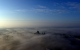 This stunning photo of Galway covered in a blanket of fog is unreal