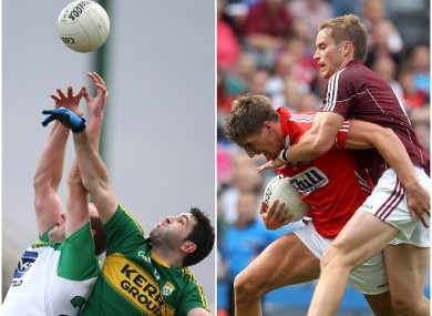 Donegal face Kerry while Cork take on Galway in the Allianz football league next Sunday.