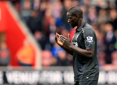 Liverpool's Mamadou Sakho.