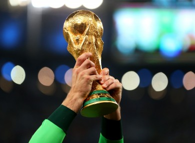 The World Cup is set to be increased to 48 teams.