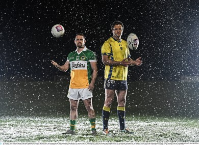 Shane Williams and Michael Murphy swapped sports.