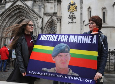 Convicted murderer Alexander Blackman received a great deal of support at a recent appeal against his sentence.