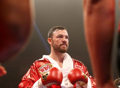 Lee: lost world title to Billy Joe Saunders in December 2015.