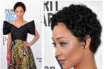 Ruth Negga has just made it 100% ok to bring blue eyeliner back from the nineties
