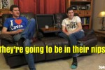 Gogglebox Ireland watched a show about naturism so there were *loads*of comments about mickeys