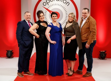 The five leaders have lost 10 stone between them in two months