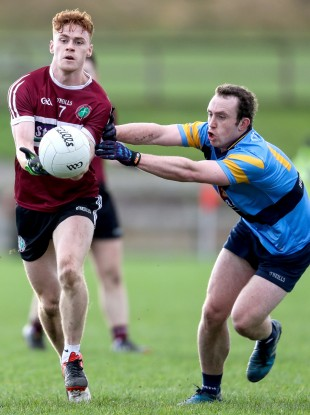 Conor Meyler starred for St Mary's.