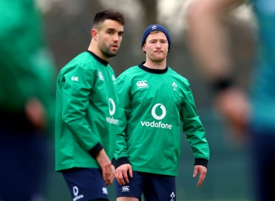Conor Murray and Kieran Marmion.