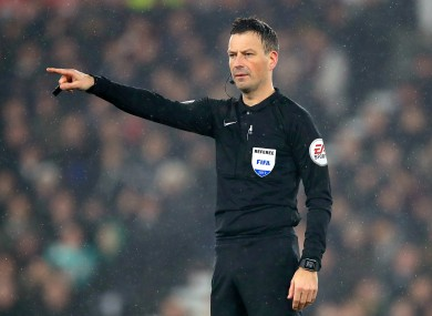Clattenburg has been a Premier League referee since 2004.
