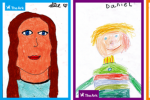Children's self-portraits on display in Merrion Square tomorrow