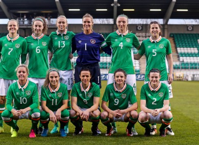 The Ireland women's team will play against Czech Republic, Hungary and Wales in the Cyprus Cup.