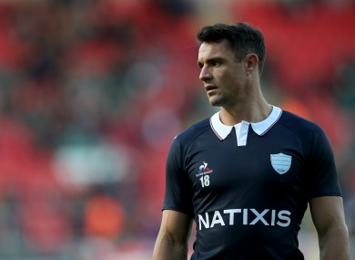 Dan Carter has apologised for his actions.