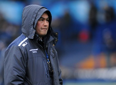 Connacht head coach Pat Lam.
