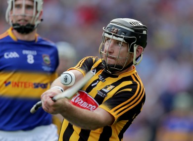 Richie Hogan in action for Kilkenny during last year's All-Ireland final.