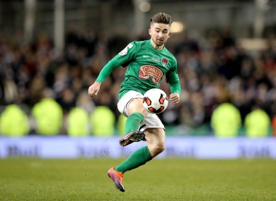 Cork's Sean Maguire finished as the League of Ireland's top scorer in 2016.