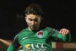 Cork City goalscorer Sean Maguire (file pic).