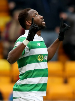 Hoops hat-trick hero Dembele.