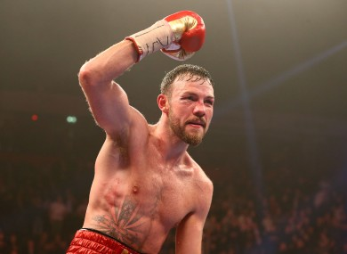 Lee last fought in December 2015.