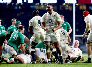 Billy Vunipola is back in England's starting XV.