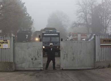 File photo - immigration registration centre in Bulgaria