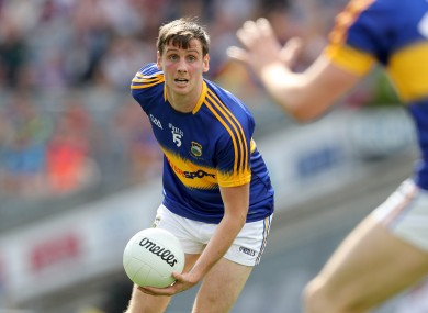 Conor Sweeney was the scoring star for Tipperary this evening.
