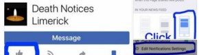 Here's why your Facebook feed was filled with posts from 'Death Notices' pages over the weekend