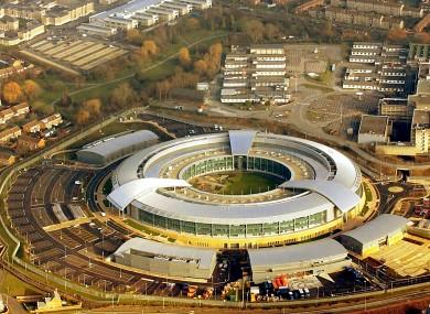 The Government Communication Headquarters (GCHQ) near Cheltenham.