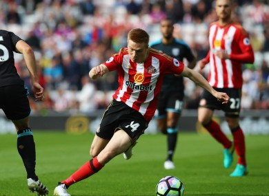 Watmore is currently recovering from a knee injury.