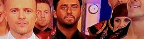 Hughie Maughan audaciously brought the fake tan back to the Dancing With The Stars final last night