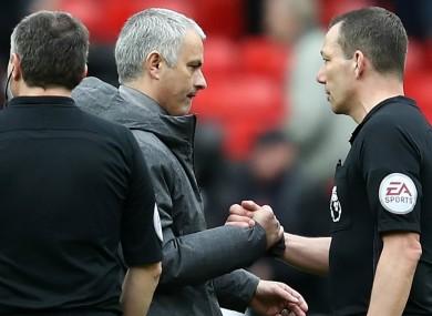 Jose Mourinho, Manchester United.