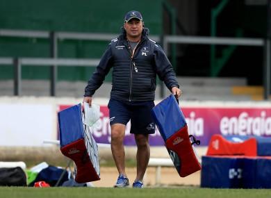 Connacht head coach Pat Lam.