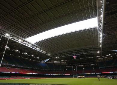 Cardiff's Principality Stadium.
