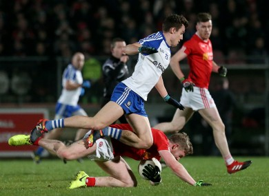 A four-point win for the home team in Healy Park tonight.