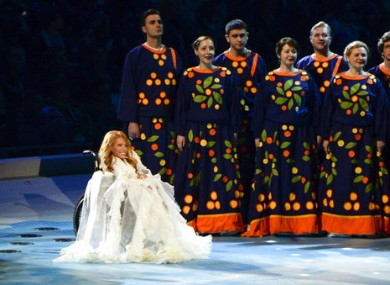 Julia Samoilova has been banned from performing in the Eurovision by Ukrainian authorities.