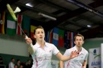 Chloe and Sam Magee win first ever medal for Ireland at European badminton championships