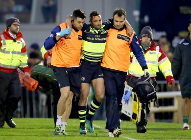 Kearney sustained the injury in the second half of Leinster's win over Connacht.